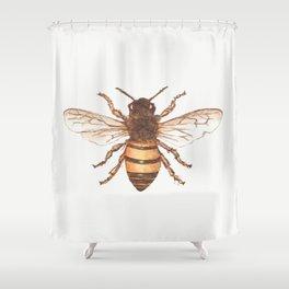 Queen Bee Shower Curtain