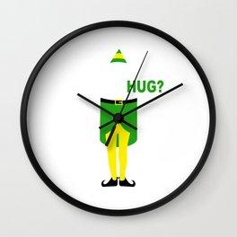 buddy elf chrismas Wall Clock