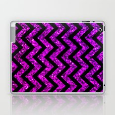 Chevron Purple Sparkle Laptop & iPad Skin