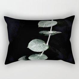 Listening to Silence Rectangular Pillow