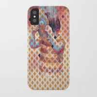 third eye iPhone & iPod Cases featuring Third eye by Cristian Blanxer
