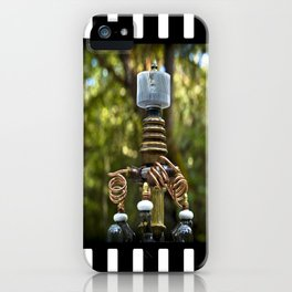 Mad Scientist Device Number 42 iPhone Case