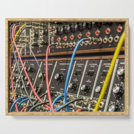 Modular synth 2 Serving Tray