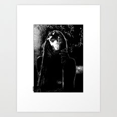 asc 400 - La fumerie (In the dens) Art Print