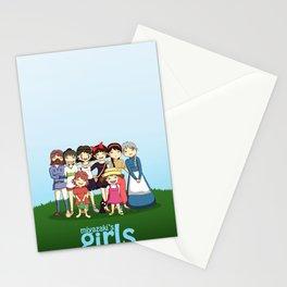 Miyazaki Girl's Stationery Cards