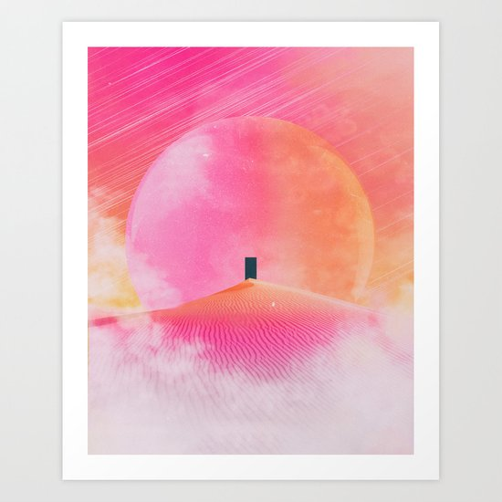 Any Given Place Art Print