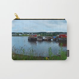 Fisherman's Wharf in Cape Breton Carry-All Pouch