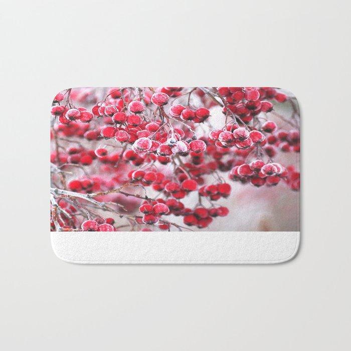 Icy Berries  Bath Mat