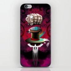 Fat Hat iPhone & iPod Skin