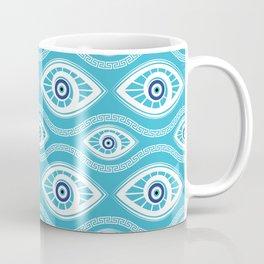 Greek Mati Mataki - Matiasma Evil Eye Pattern #6 Coffee Mug