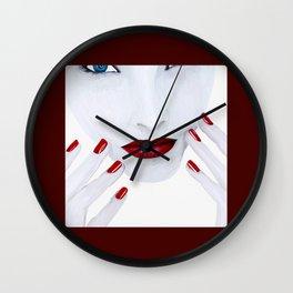 Milk Wall Clock