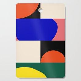 Geometric-Organic Cutting Board