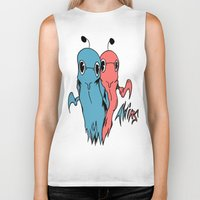 twins Biker Tanks featuring TWINS by Strange things collection