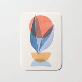 Summer Stack II / Abstract Landscape Bath Mat