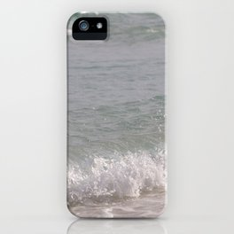 Lapping waves iPhone Case