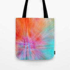 Abstract Big Bangs 002 Tote Bag