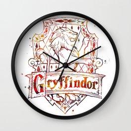 Gryffindor Crest Wall Clock