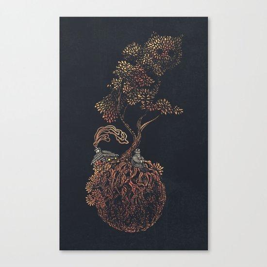 Lonely Planet - colour option  Canvas Print
