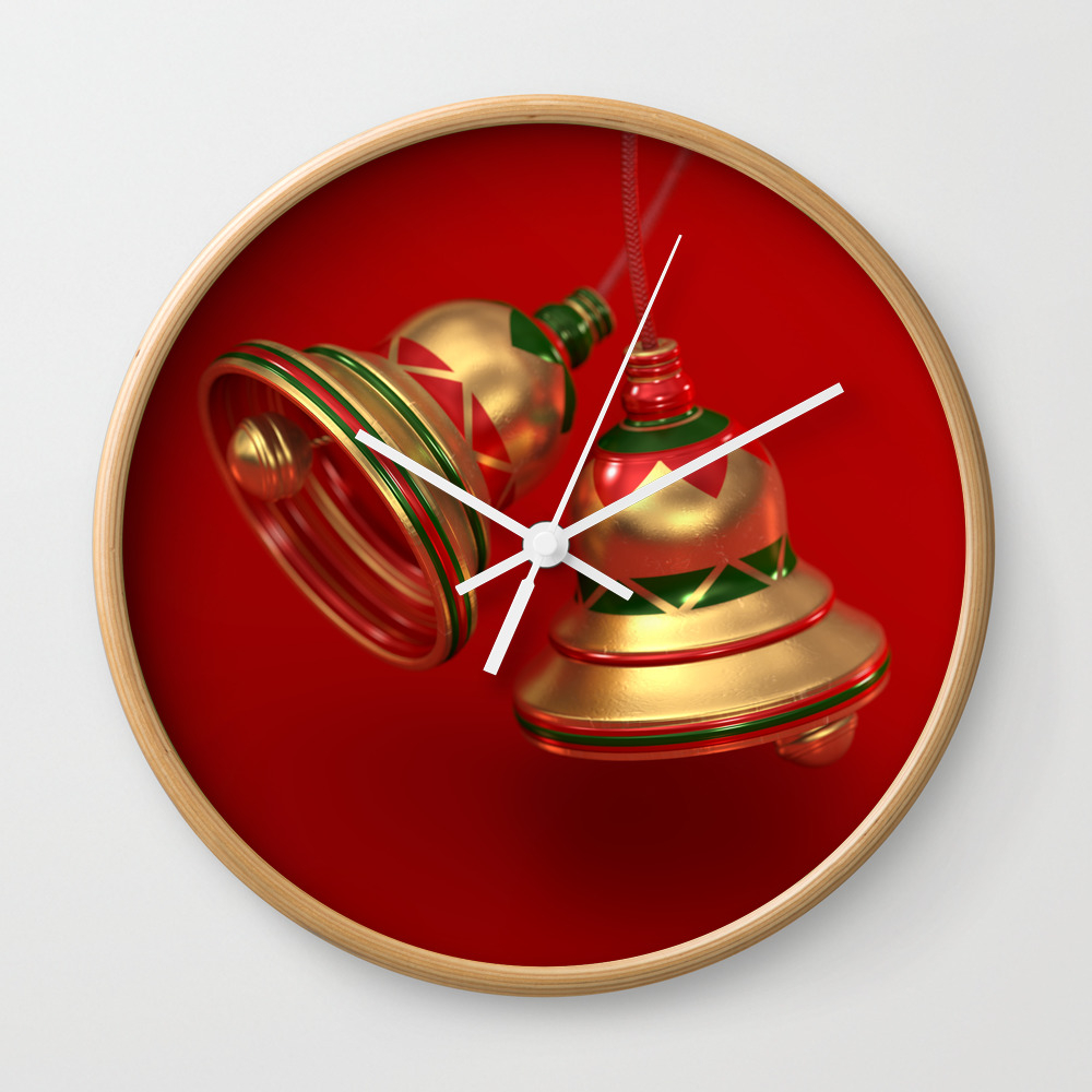 Ding Dong Clock by Perrylcooper CLK8412522