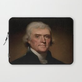 portrait of Thomas Jefferson by Rembrandt Peale Laptop Sleeve