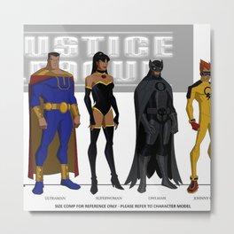 Justice League  Metal Print