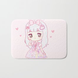 princess peachie Bath Mat