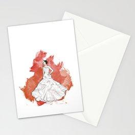 Wedding Dress Stationery Cards
