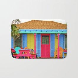 Whimsical Beach House Bath Mat