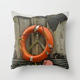 Life Saver Throw Pillow