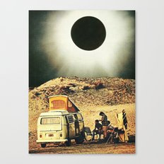 Road Trip Into the Void Canvas Print