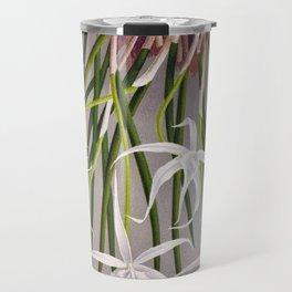 Brassavola Cuculatta Vintage White Orchids Travel Mug