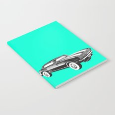Mustang Car Notebook