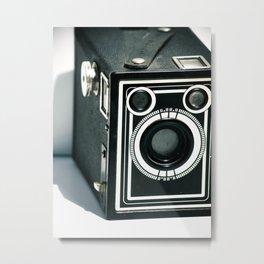 Vintage 1940's Sears S-20 Box Camera Photography  Metal Print
