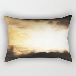 Eguna erretzen ari da Rectangular Pillow