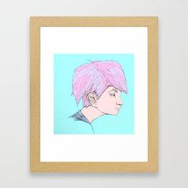 """""""Reruns"""" Framed Art Print"""