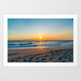 Canaveral National Seashore Sunrise Art Print
