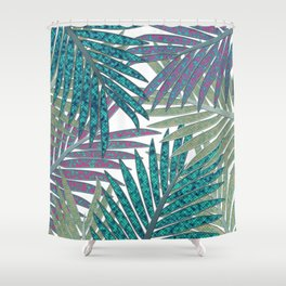 TROPICAL LEAVES GARDEN W Shower Curtain