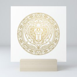 Scarabeus Mandala – Egypt Mini Art Print