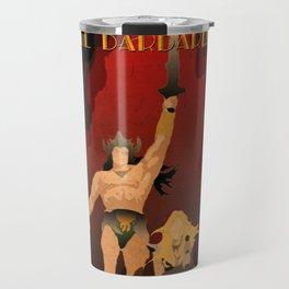Conan the Barbarian Minimalist Poster Travel Mug