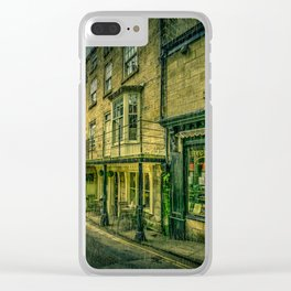 Rainy Day in the Bay Clear iPhone Case