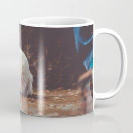cute sleeping puppy Coffee Mug