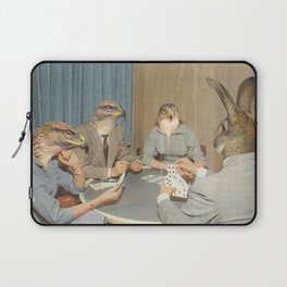 Too Late Mr. Hudson - Poker Laptop Sleeve