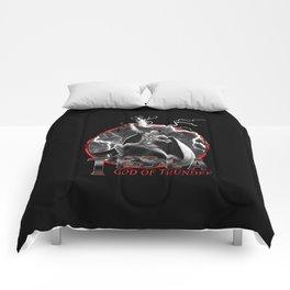Tesla: God of Thunder Comforters