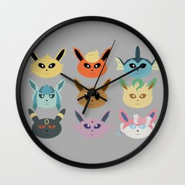 The Silly Beasts Wall Clock