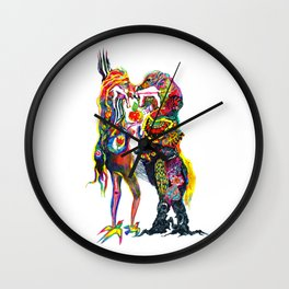 The other half of my heart Wall Clock