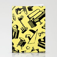 memphis Stationery Cards featuring Memphis by Mario Graciotti