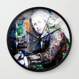 Bach Composer Musician Collage Portrait Wall Clock