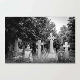 Garden of the Departed Canvas Print