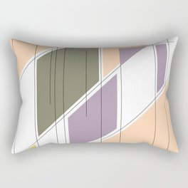 Abstract #1 Rectangular Pillow