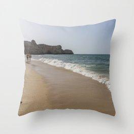 Seaside 07 Throw Pillow